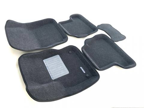 3D коврики Euromat для FORD Focus 3 HB/SD/WAG (2011-2019), Business, Серый
