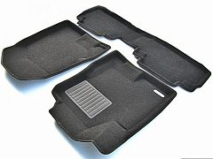 3D коврики Euromat для LEXUS RX (2002-2008), Business, Черный